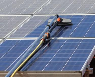 Solar Panel Washing